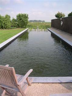 Ecologische zwemvijver met biologische filtering for Zwemvijver filtersysteem