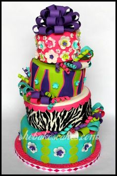 Rachel Lewis, of She Bakes Cakes, makes the most creative and delicious cakes ever.