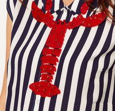 The Tatty Devine 'Giant Lobster' Necklace is Ridiculous #necklace #jewelry trendhunter.com
