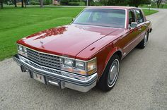 """1976 Cadillac Seville - 1st generation. This was one of the most expensive American luxury cars of its day, hard to believe that it's a """"gussied up"""" Nova."""