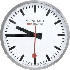 Настенные часы Mondaine (Монден) A995.CLOCK.16SBB Wall Clock Large White Dial