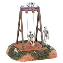 Lemax® Spooky Town Skeleton Swings