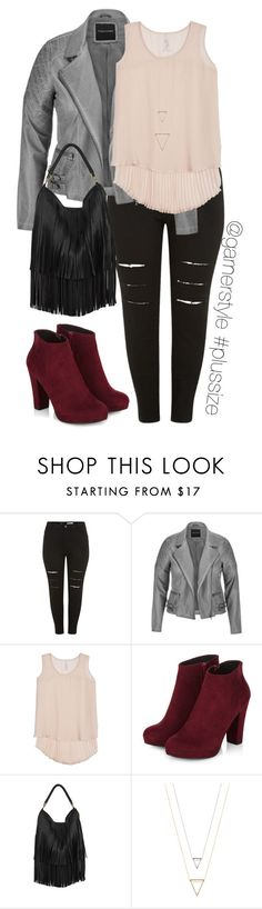 Tough Stuff by garnerstyle on Polyvore featuring Melissa McCarthy Seven7, maurices, Akira and plus size clothing