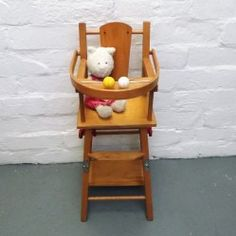 Vintage Toy Highchair www.vintageactually.co.uk