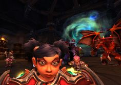 LFR gnome raid night. Pip looking fierce there, and Anaesthesia on the side.! @gnomeregan4ever #Warcraft #selfie