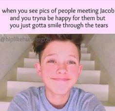 So true,I wish I was them but I'm really happy for them!