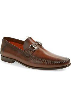 Santoni 'Egan' Bit Loafer (Men) available at Bit Loafers, Penny Loafers, Loafers Men, Oxford Shoes, Dress Shoes, Handsome, Footwear, Nordstrom, Luigi