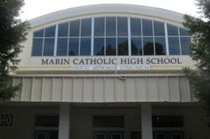 Freitas Memorial Gymnasium at Marin Catholic High School in Kentfield, CA.  (Wikimedia Commons)