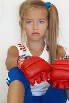 Anastasia Bezrukova - young child model from Russia