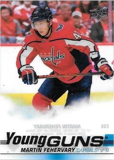 A large assortment the new Upper Deck hockey cards for sale Hockey Cards, Baseball Cards, Young Guns, Upper Deck, Decks, Sports, Hs Sports, Front Porch, Sport