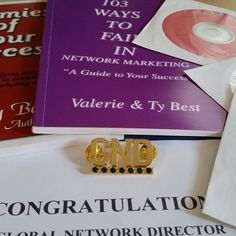 I Received My Global Network Director's Pin