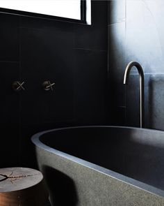 We are in love with the sleek design and modern matte black tapware from Meir now available from industry leaders Stiles. Wall Taps, Stone Bath, Bathroom Design Inspiration, Kitchen Tops, Beautiful Wall, Architect Design, Beautiful Bathrooms, Bathroom Accessories, Design Trends