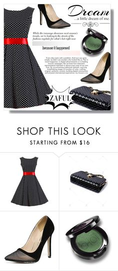 """""""little dream of me"""" by fashion-pol ❤ liked on Polyvore featuring Love Quotes Scarves and WALL"""