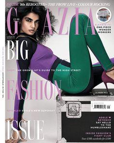 Bhumika Arora on Grazia UK February 20th, 2017 Cover