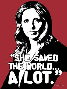"BUFFY SUMMERS: ""She saved the world... A lot."" by Vixetches Buffy Summers, Buffy The Vampire Slayer, Canvas Prints, Art Prints, Vampires, Iphone Case Covers, Meme, Journal, Horses"