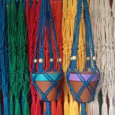 Macramé Hangers by Sunshine Dreaming
