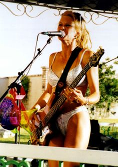 Bass Player of The California Girls