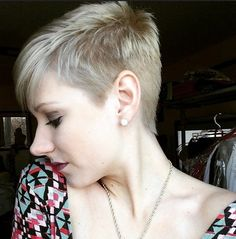 Short Shaved Haircuts for Fine Hair - Short Spikey Hairstyles for Summer