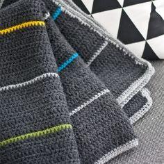 Man's Crochet Blanket