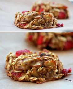 Grab-and-Go Breakfasts: Gluten-free Strawberry Banana Bites