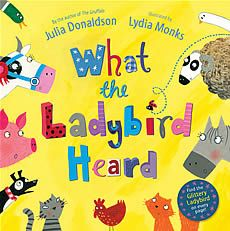 What the Ladybird Heard (Story and Song) With Alexander Armstrong Macmillan (book and CD)  isbn 978-0230746527