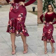Shop sexy club dresses, jeans, shoes, bodysuits, skirts and more. African Dresses For Kids, Latest African Fashion Dresses, Modest Fashion, Girl Fashion, Fashion Outfits, Skirt Outfits, Dress Patterns, Knit Dress, Dress To Impress