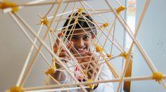 Patronen en polyhedra, maar oooook rietjes en elastiekjes in de Woord op OBS de Startbaan.