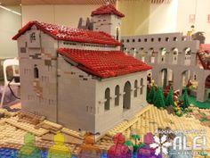 Iglesia de Burgos con LEGO