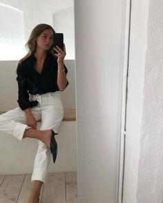 Casual Outfits With Kitten Heels