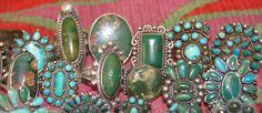 Uchizono Gallery: Vintage Zuni and Navajo Rings From Uchizono Gallery