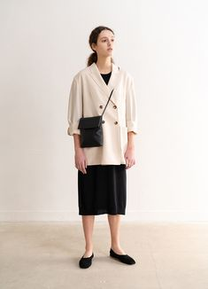 Simple Outfits, Classy Outfits, Cool Outfits, French Chic Looks, Muji Style, Skirt Fashion, Fashion Outfits, Tokyo Street Style, Retro Fashion