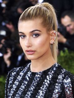 Metropolitan Museum of Art Costume Institute Gala: Manus x Machina: Fashion in the Age of Technology at the Met Museum Featuring: Hailey Rhode Baldwin Where: New York, New York, United States When: 02 May 2016 Credit: WENN.com **Not available for publication in Germany**