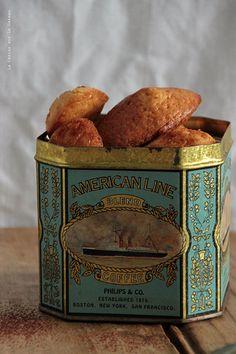 madeleines035 Mousses au chocolat & madeleines au caramel beurre salé