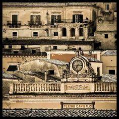 Teatro Garibaldi ,Modica ...Sicilia