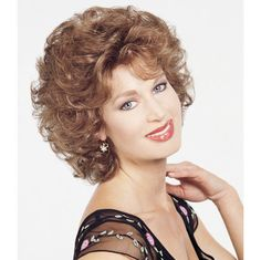 Just Gorgeous Wig - Layers, curls and more! You'll feel gorgeous! Find this style & more @ thewigcompany.com