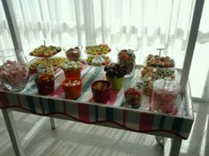 Los dulces del carrito de boda