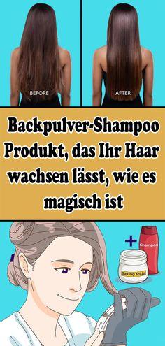 Baking soda shampoo: product that makes your hair grow like .-Backpulver-Shampoo: Produkt, das Ihr Haar wachsen lässt, wie es magisch ist Baking soda shampoo: product that makes your hair grow as it is magical - Baking Soda Shampoo, Baking Soda Uses, Healthy Diet Tips, Healthy Hair, Healthy Lifestyle, Diy Beauté, Leave In, Rides Front, Curly Girl Method