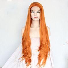 Udreamy Orange color Natural hairline Heat resistant hair... https://www.amazon.com/dp/B071GKMQJ6/ref=cm_sw_r_pi_dp_x_VllqzbDD8DKZK