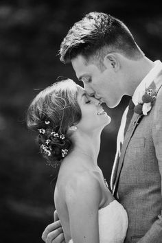 Queue: your heart melting. This beautiful country-inspired California wedding features rustic-chic decor ideas and inspiring, must-have photo poses for the new husband and wife who ooze true love!