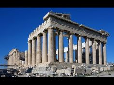 Parthenon (Acropolis) made in Athens around  447-432 BCE. This temple was built to give thanks to Athena for the salvation of Athens and Greece during the Persian Wars.