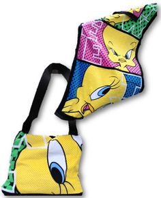 Tweety Bird Beach Tote Bag/Towel Combo by PillowKET on Etsy, $24.95