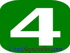 In the event that you want to learn how many days until September, you can check our countdown we located above to learn this. How Many Days Left, How Many Years, Days In September, Read More, Breakup, Letters, Let It Be, Learning, Tuesday