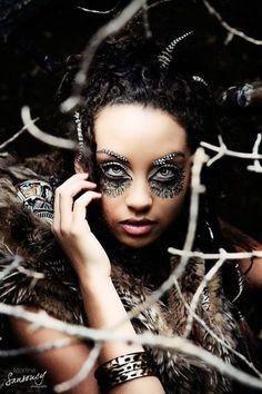 High Fashion Owl Concept Shoot