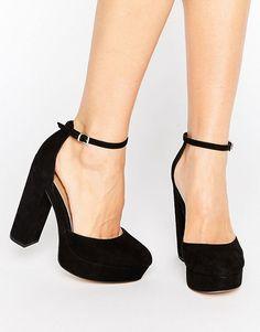 ASOS - PARODY - Chaussures à talons hauts carrés et plateforme at asos.com 72950c33d505