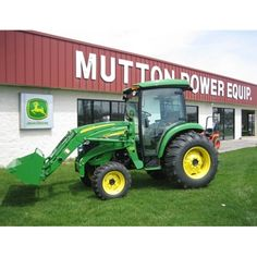 John Deere 4720 Compact Utility Tractor -- Check it out at: http://www.muttonpower.com/store/p-2608-john-deere-4720-cab-tractor-loader.aspx