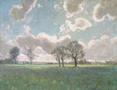 J. E. H. MacDonald - Landscape with trees and clouds - James Edward Hervey MacDonald (May 12, 1873 – November 26, 1932), known as J. E. H. MacDonald, was a Canadian artist and one of the founders of the Group of Seven who initiated the first major Canadian national art movement.