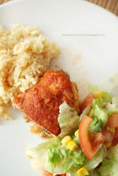 No to do dzieła! Risotto, Grains, Rice, Chicken, Cooking, Ethnic Recipes, Food, Diet, Kitchen