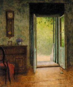Interior, Jacob Schikaneder. Bohemian (1855 - 1924)