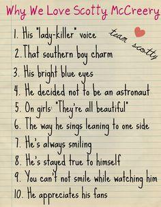 Why we love Scotty Mccreery