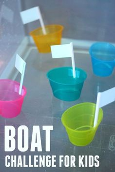 Quick & Easy Boat Challenge for Kids!